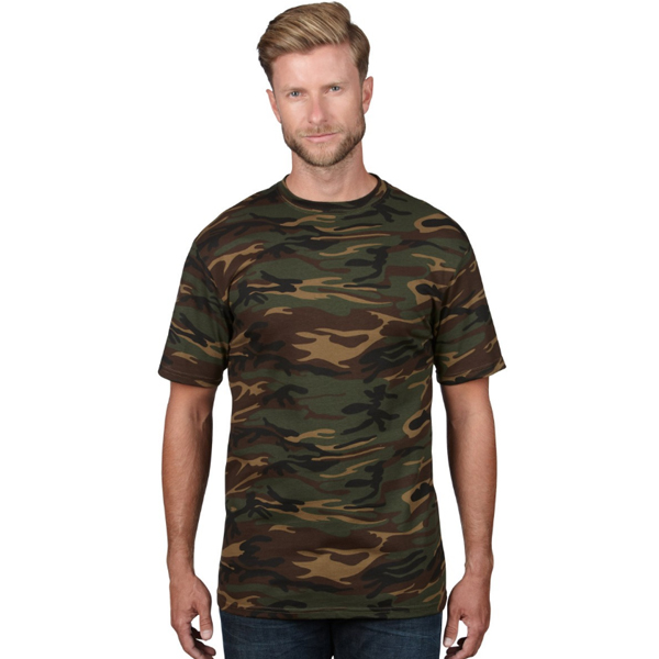 Anvil Camouflage Tee Shirt Homme